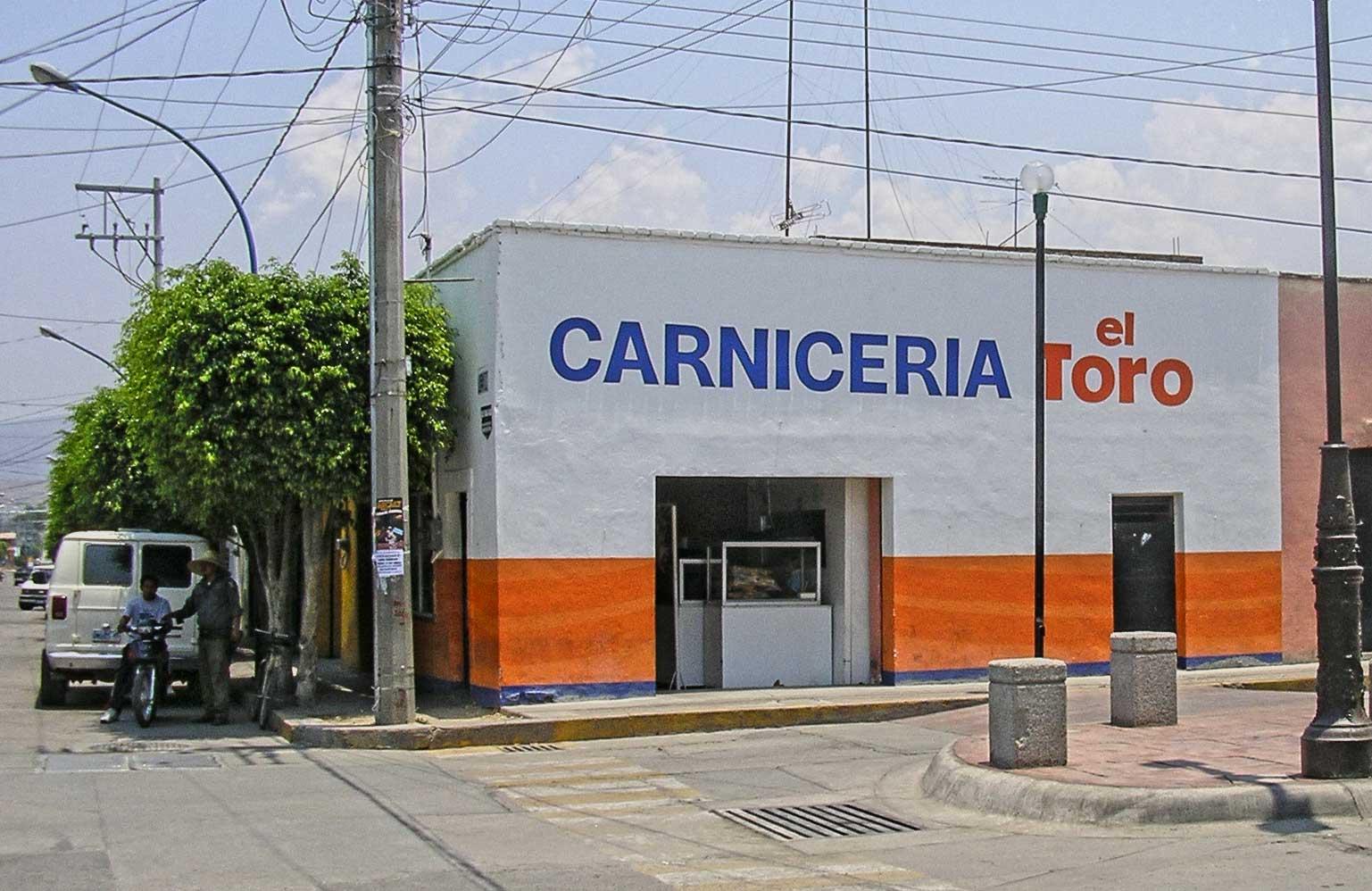 Librado's butchershop in Cueramaro GTO