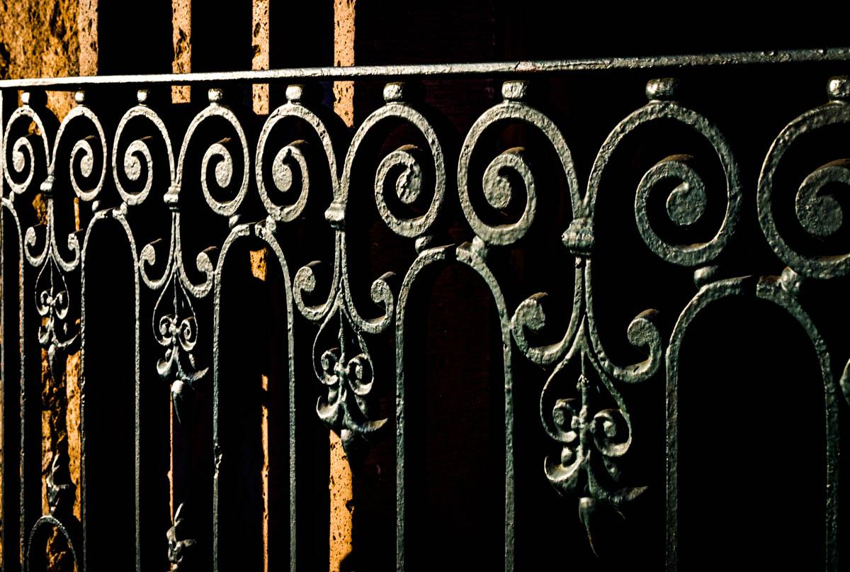 Grillwork detail - Madero