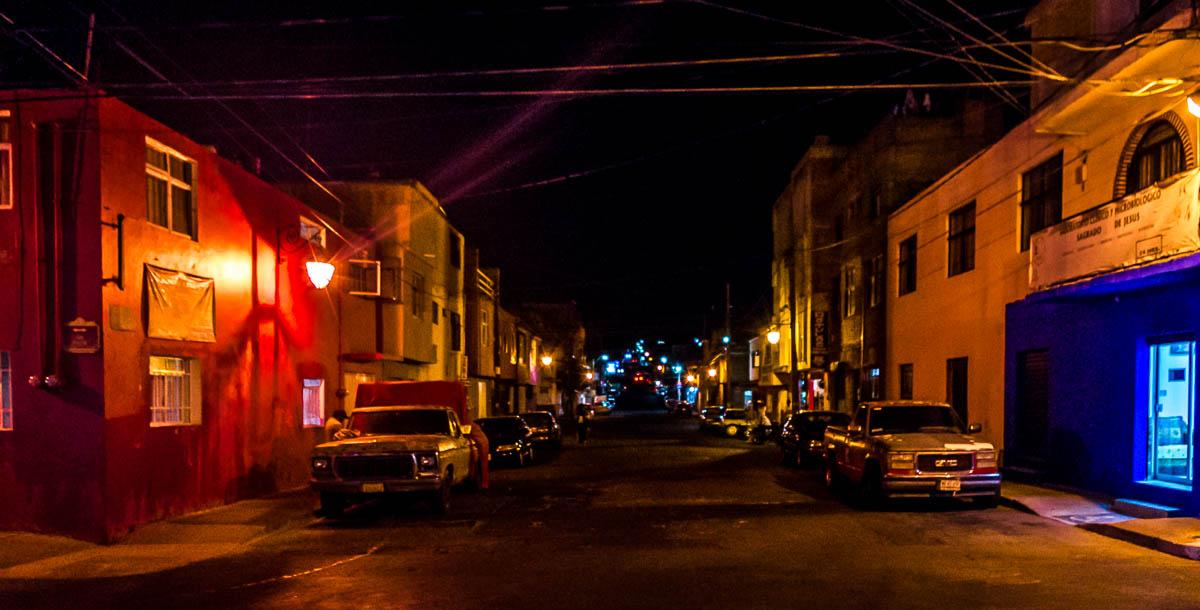 Evening, Street Colors