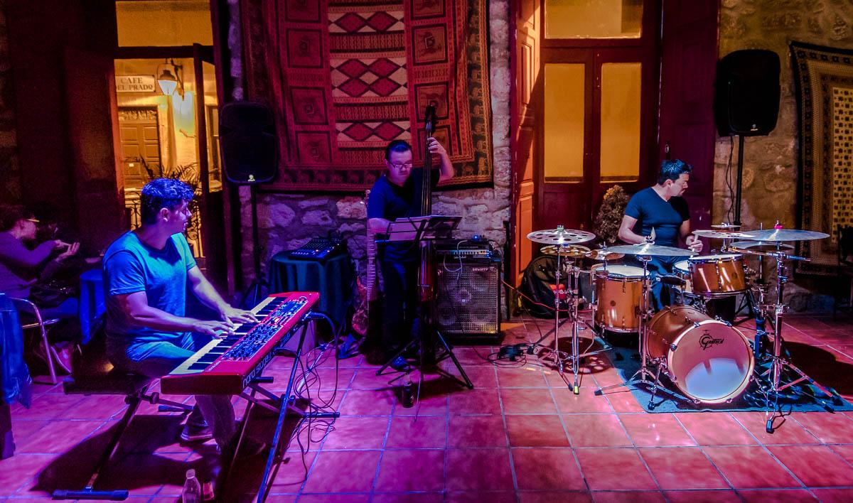 MVM Trio - Fernando Mendoza - Drums, Omar Marin - Bass, David Villanueva - Piano