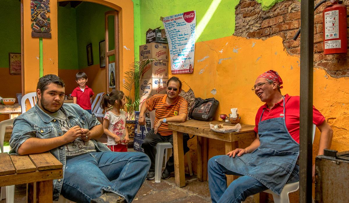 Los de Asadas, Morelia, Michoacan, Mexico