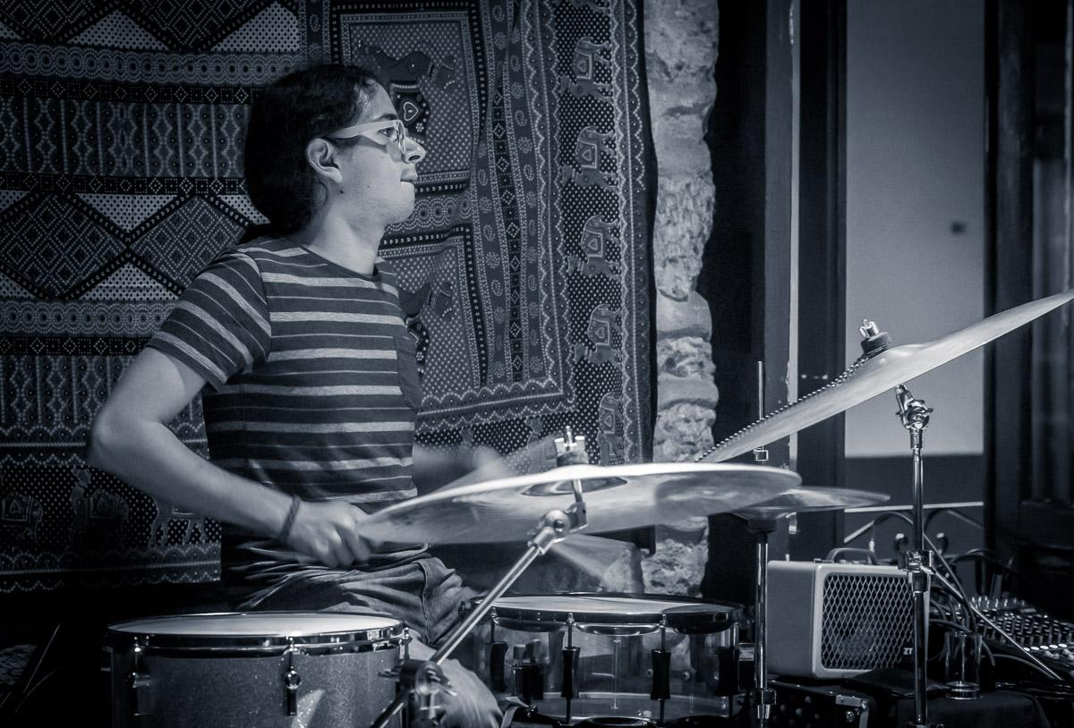 Slim Miller - voice and guitar, Omar Ramirez - Hammond Keyboard, Vic Romero - Bass and Ivan Ramirez - Drums